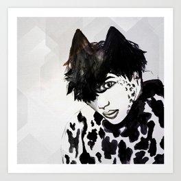 Taemin Ceci Art Print