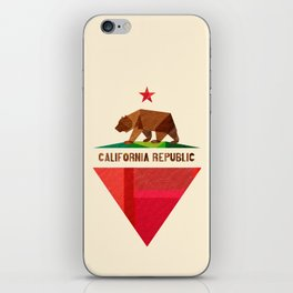 California 2 (rectangular version) iPhone Skin