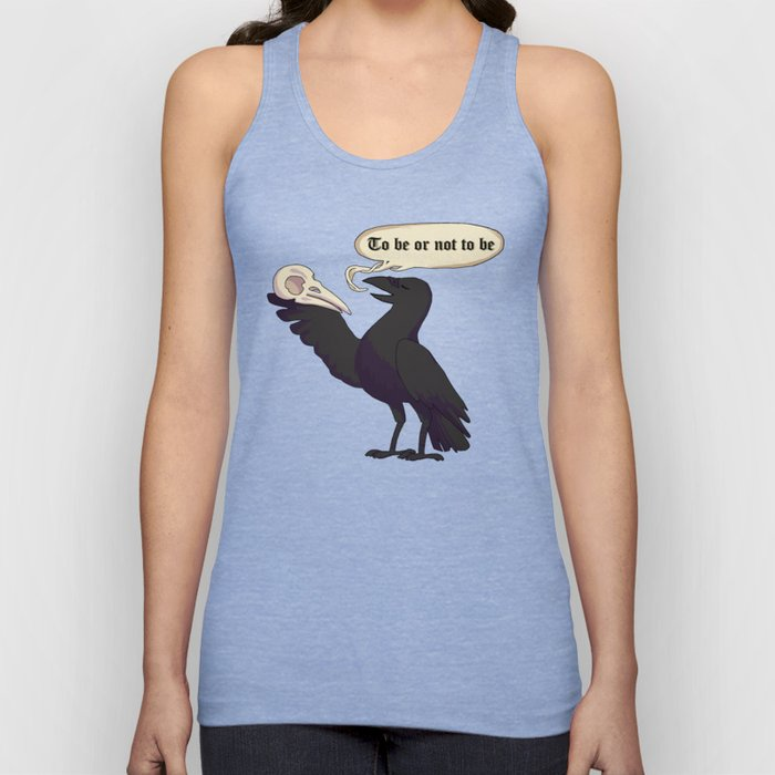 To Be or Not to Be Unisex Tank Top