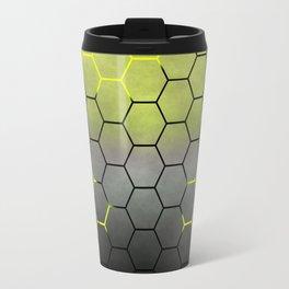 YELLOW HONEY COMB 02 Travel Mug