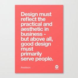 Design Quotes #6 Canvas Print