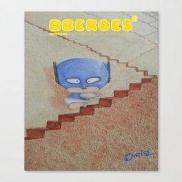 BBEROES Mr. Jumper Lifetime Journey  Canvas Print