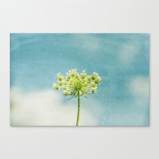 Under A Sky So Blue Canvas Print