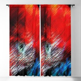Bruce Hated Puppies - Scarlet Macaw Painting by Jeanpaul Ferro Blackout Curtain