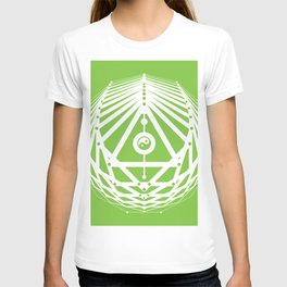 Radiant Abundance (green-white) T-shirt