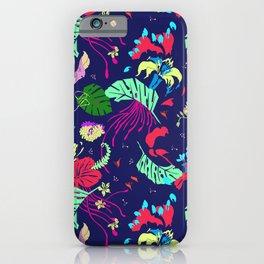 Mad Jungle Tropical Print iPhone Case
