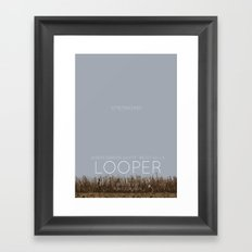 Looper Framed Art Print