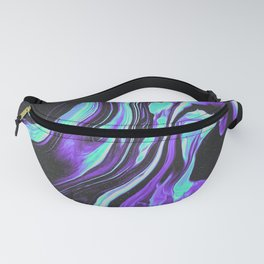 BLACK & BLUE DEVOTION Fanny Pack