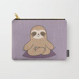 Kawaii Cute Yoga Sloth Carry-All Pouch