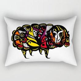 sheep keep you warm Rectangular Pillow