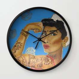 Riveter Wall Clock