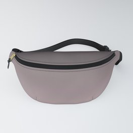 Black, pink - gray Ombre. Fanny Pack