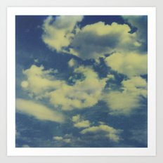 Instant Series: Clouds II Art Print