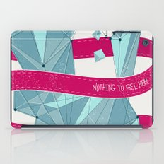 Nothing To See Here. iPad Case