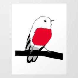 Little Robin Redbreast Art Print