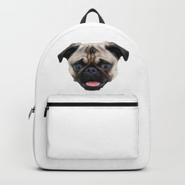 Pugs Are My Valentine Backpack