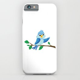 Funny Bird Finger Flipping iPhone Case