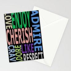 I ______ You Stationery Cards