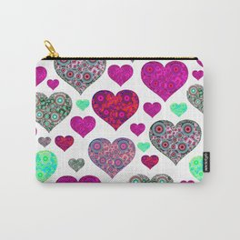 Hearts a Float Carry-All Pouch