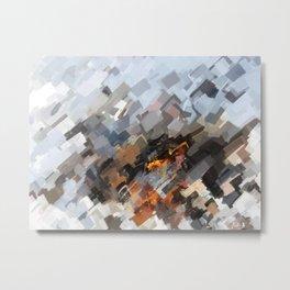 Eloquent Terrain Metal Print