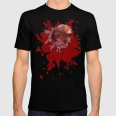 Chestburster X-LARGE Black Mens Fitted Tee
