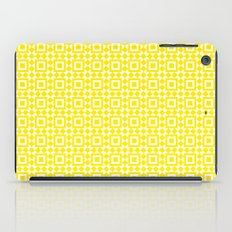 Moroccan Tiles Yellow iPad Case