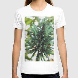 Flor azul T-shirt