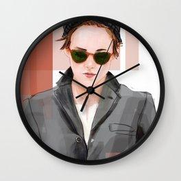 K Stew Wall Clock