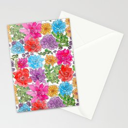1960s Garden by Offhand Designs Stationery Cards