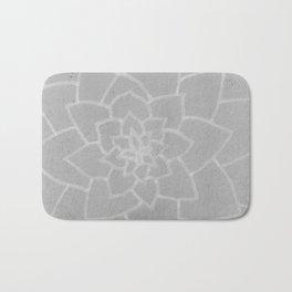 pale succulent Bath Mat