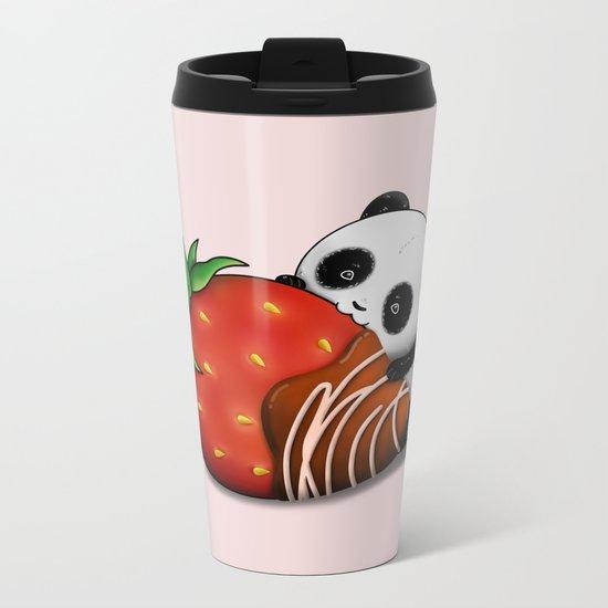 Pandaberry Metal Travel Mug