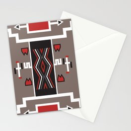 American Native Pattern No. 161 Stationery Cards