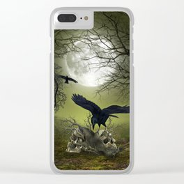 In the dark side Clear iPhone Case