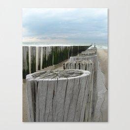 North Sea Break Canvas Print