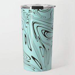 Mint marble Travel Mug