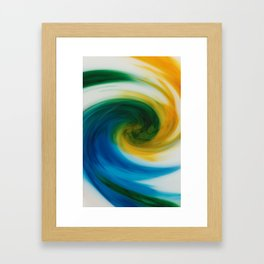 Milky Way Stir Framed Art Print