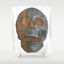 Fading Into Time Shower Curtain