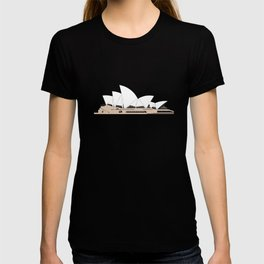 Opera House Utzon Modern Architecture T-shirt
