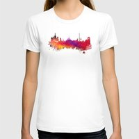 moscow T-shirts featuring Moscow skyline by jbjart