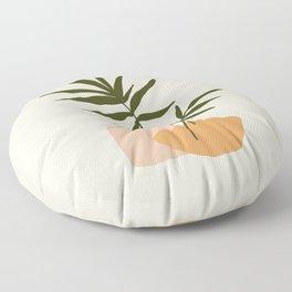 GIOIA DEI FIORI - the joy of flowers - Modern abstract art illustration Floor Pillow