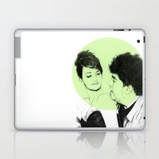 Pedro Almodovar and Penelope Cruz Laptop & iPad Skin