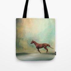 Arabian Run - Horse Tote Bag