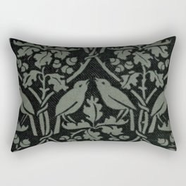 Bird And Oak Rectangular Pillow