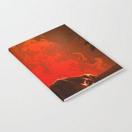 Midnight fire Notebook