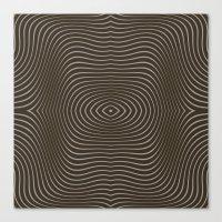 tree rings Canvas Prints featuring Tree Rings by Morgan Bajardi