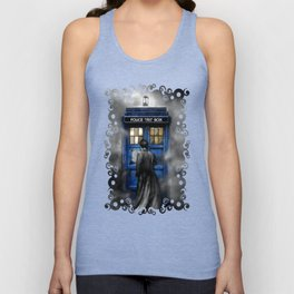 Halloween 10th Doctor lost in the mist Unisex Tank Top