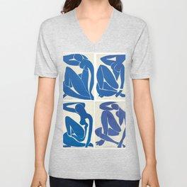 The Blue Nudes - Henri Matisse Unisex V-Neck