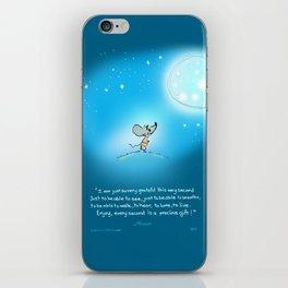 Yogi Mouse- Gratitude iPhone Skin