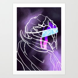 Galaxy Series: Vetra Nyx Art Print