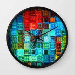Grandma's mozaic Wall Clock